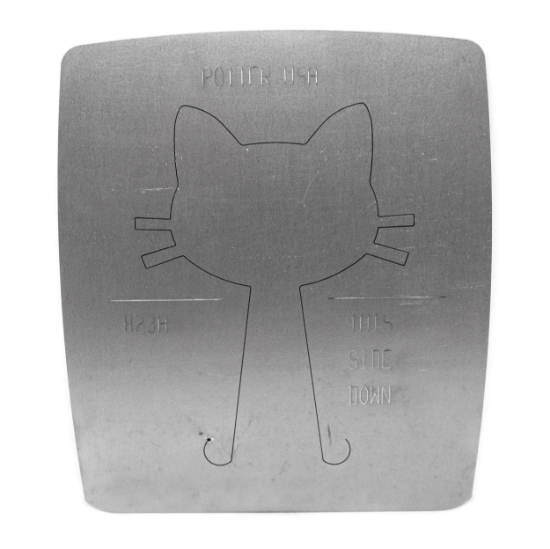 Picture of LAST CALL! Pancake Die 823A Large Cat Head Ornament