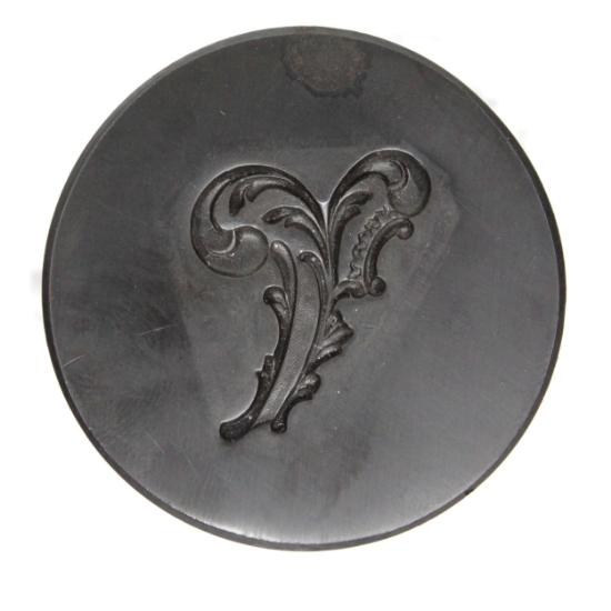 Picture of Elegant Flourish Silver Stamping
