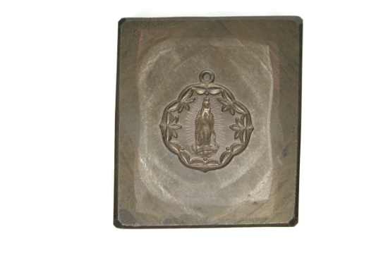 Picture of La Virgen de Guadalupe Silver Stamping