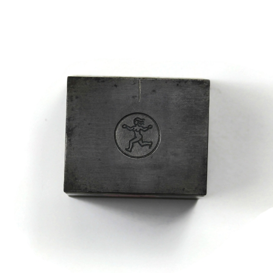 Picture of Minimalist Virgo Silver Stamping