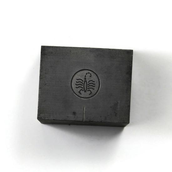 Picture of Minimalist Scorpio Silver Stamping