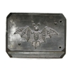 Picture of Small Diamond Bat Silver Stamping