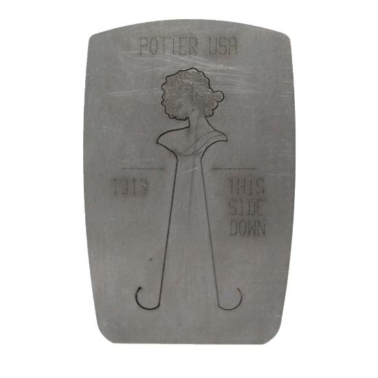 Picture of Clearance: Lady with Full Design 1313 Pancake Die