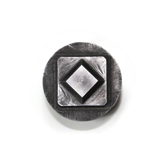 Picture of Impression Die Diamond Raised Square Concho