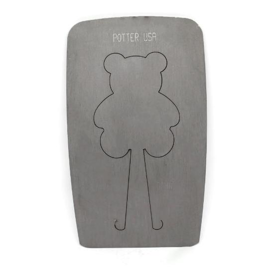 Picture of Pancake Die XM 506 Teddy Bear Ornament