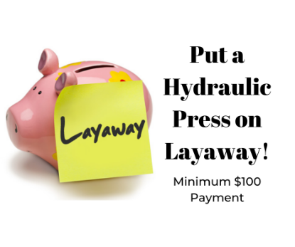 Picture of LAYAWAY Press Payment $100