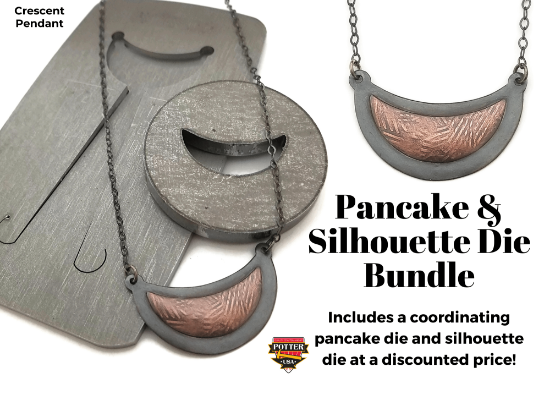 Picture of Pancake & Silhouette Die Bundle: Crescent Pendant