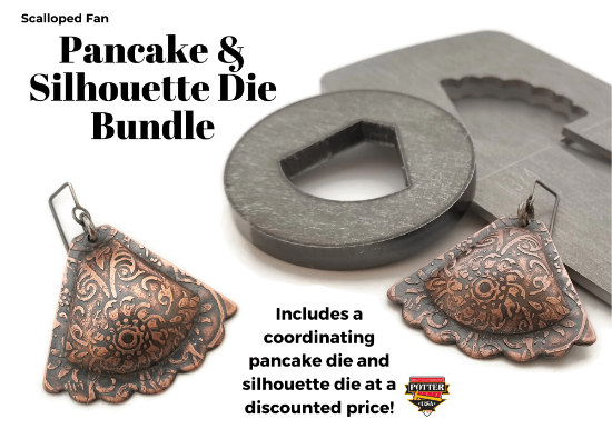 Picture of Pancake & Silhouette Die Bundle: Scalloped Fan