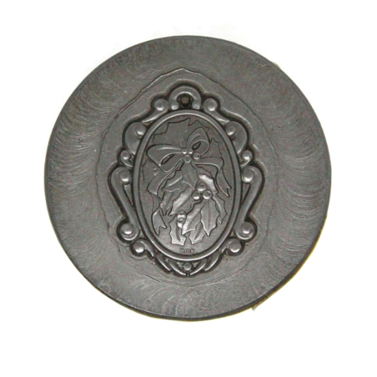 Picture of Impression Die Holly Plaque