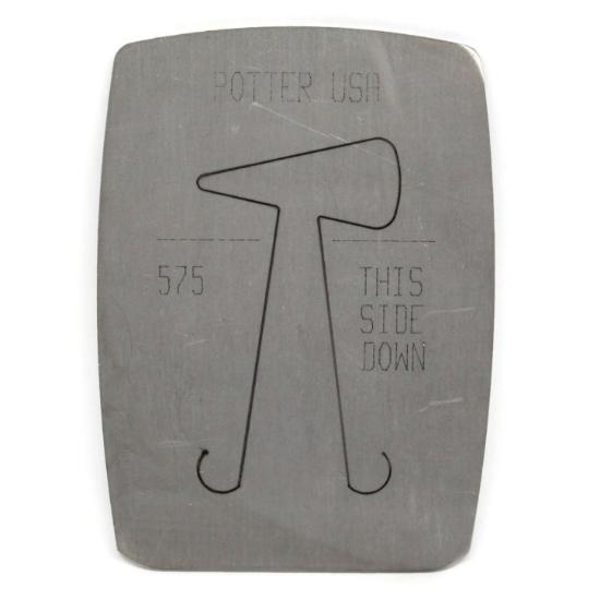 Picture of Pancake Die 575 Medium Squared Teardrop