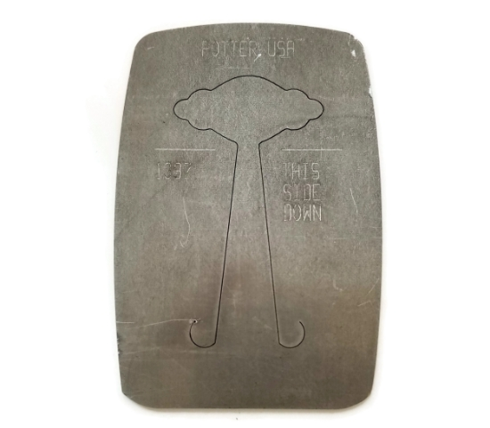 Picture of Pancake Die 1397 Scalloped Plaque