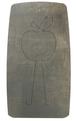 Picture of Pancake Die XM1434 Apple Ornament