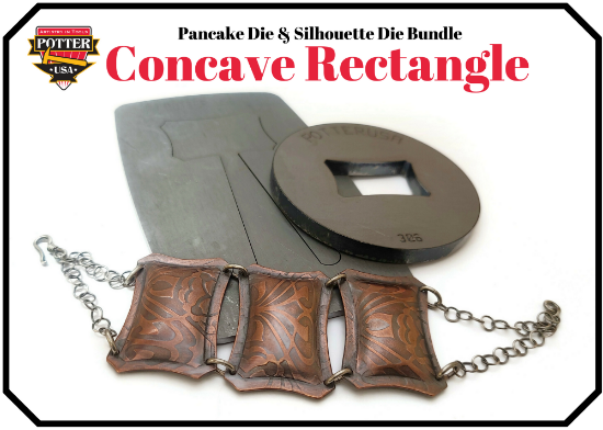 Picture of Pancake & Silhouette Die Bundle: Concave Rectangle