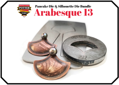 Picture of Pancake & Silhouette Die Bundle: Arabesque 13