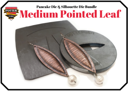 Picture of Pancake & Silhouette Die Bundle: Medium Pointed Leaf