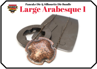 Picture of Pancake & Silhouette Die Bundle: Large Arabesque 1