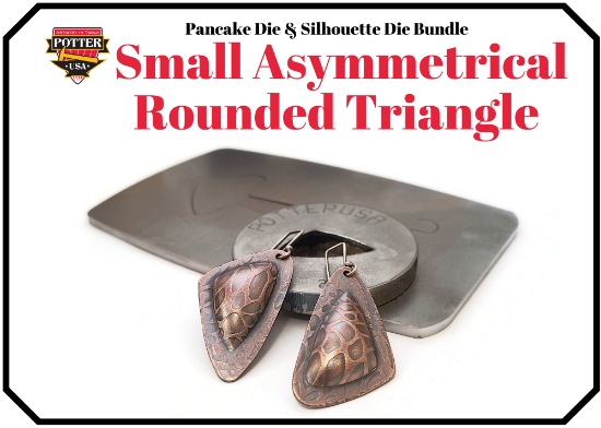 Picture of Pancake & Silhouette Die Bundle: Small Asymmetrical Rounded Triangle