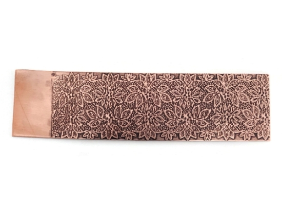 Picture of Intricate Lace Copper Patterned Sheet - CFW093