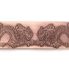Picture of Double Dragon Face-Off Copper Patterned Sheet