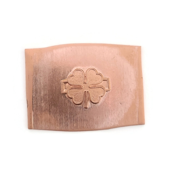 Picture of Copper Stamping Four Leaf Clover Link, Set of 2