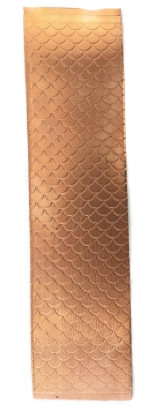 Picture of Fish Scale Copper Patterned Sheet