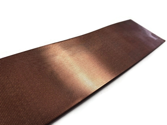"""Picture of CFW107 2.5"""" Wide Dot Grid 1ft Copper Pattern Sheet"""