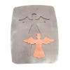 Picture of Pancake Die XM513 Lg. Angel with Crown Ornament