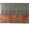 Picture of CFW104 Stamped Art Nouveau Flowers 1ft Copper Strip